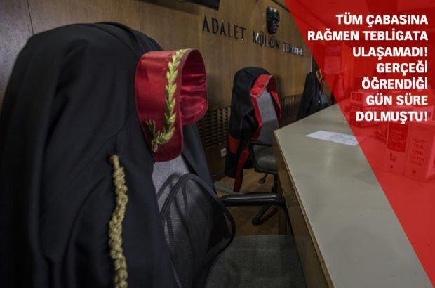 Istinaf Mahkemesi Tebliğ Tarihi Posta Kutusuna Notun Yapıştırıldığı