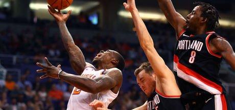 Portland Trail Blazers, Phoenix Suns'a fark attı