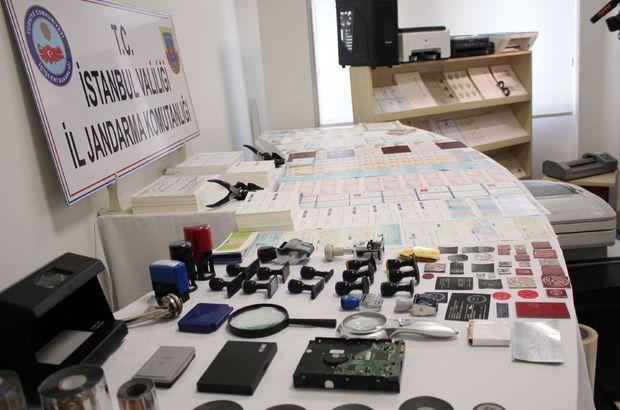 Yeni çipli kimlik kartlarının sahtesini basmaya hazırlanan matbaaya operasyon