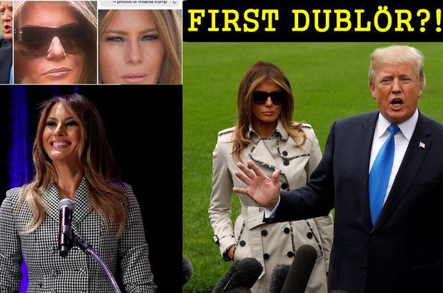 Melania Trump 'vücut dublörü' mü kullanıyor?