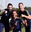 Sarı-lacivertli futbolcular Hasan Ali Kaldırım, De Souza ve Soldado, Galatasaray derbisi öncesi basın mensuplarının sorularını yanıtladı