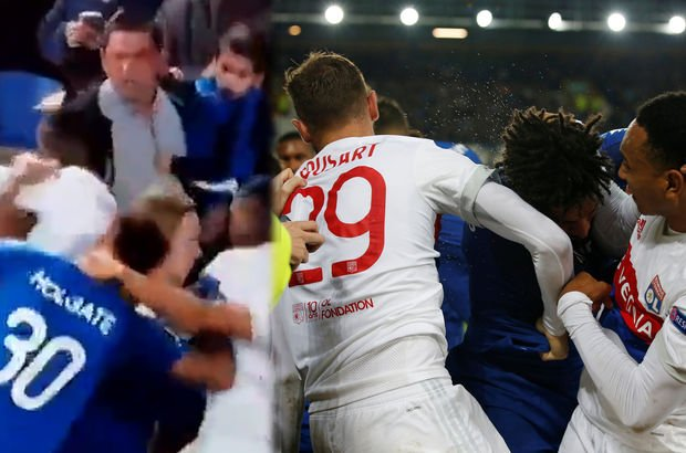Avrupa Ligi'nde olaylı maç!
