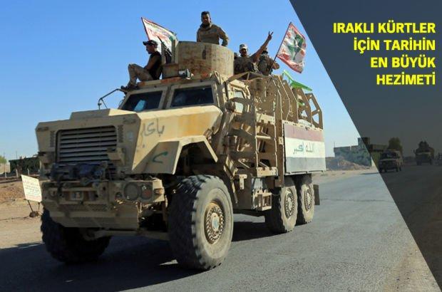 Irak Kürt Bölgesel Yönetimi Kerkük'ü 13 saatte Irak Ordusu'na çatışmasız teslim etti