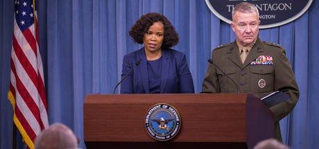 """Pentagon'dan Rakka'da """"poster"""" açıklaması"""