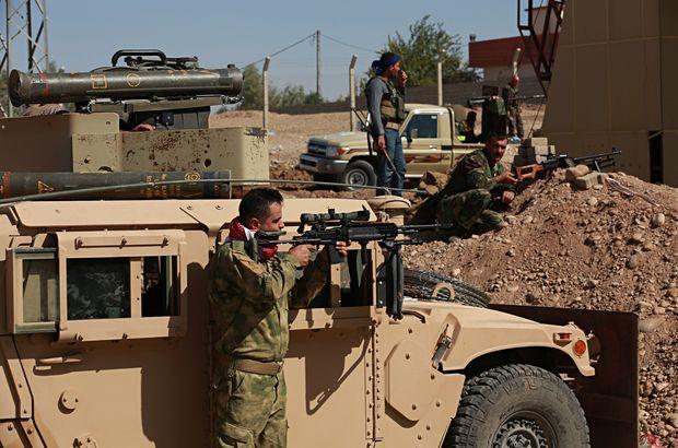 Kerkük-Erbil yolunda çatışma! Son Dakika