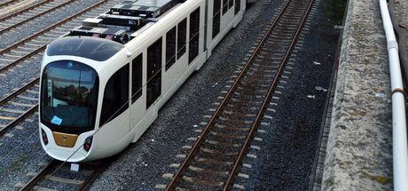Beyazıt tramvay hattında arıza