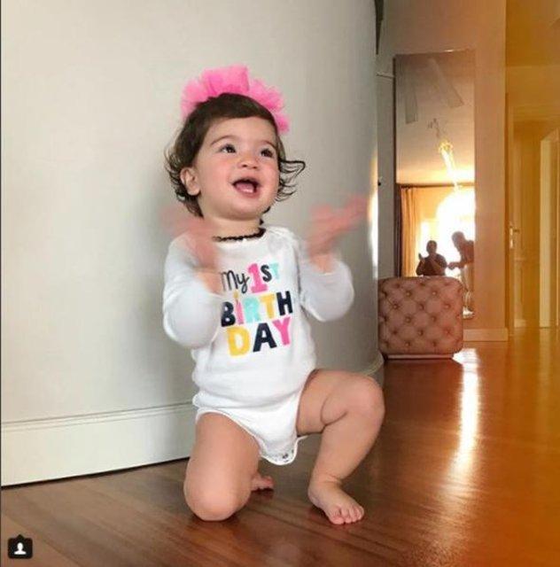 Buse Terim'in kızı Nil 1 yaşında