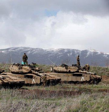 İsrail ordusu Suriye'de üç askeri noktayı vurdu