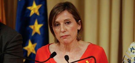Forcadell: Katalonya'yı yeni bir seçime zorlama kararı demokrasiye karşı bir saldırıdır