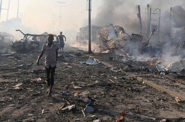 Somali'deki patlamada ölenlerin sayısı 358'e yükseldi!