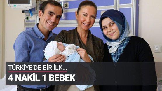 İkişer nakille bebek sahibi olan ilk çift