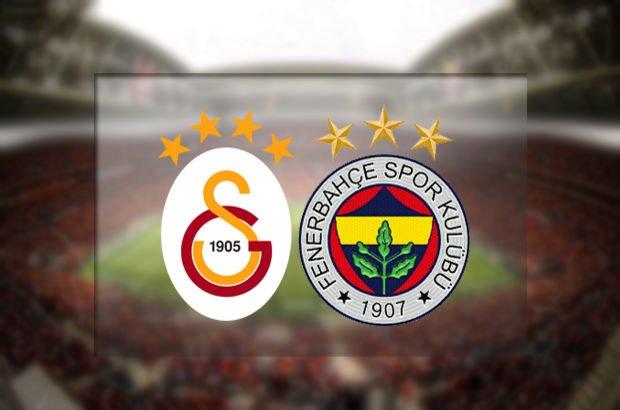 Galatasaray'ın konuğu Fenerbahçe
