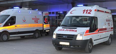 Kilis'te askeri araç devrildi! 8 asker yaralı