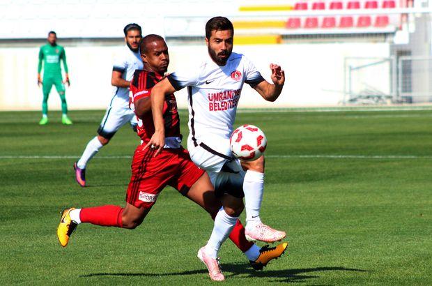 Ümraniyespor-Gazişehir Gaziantep