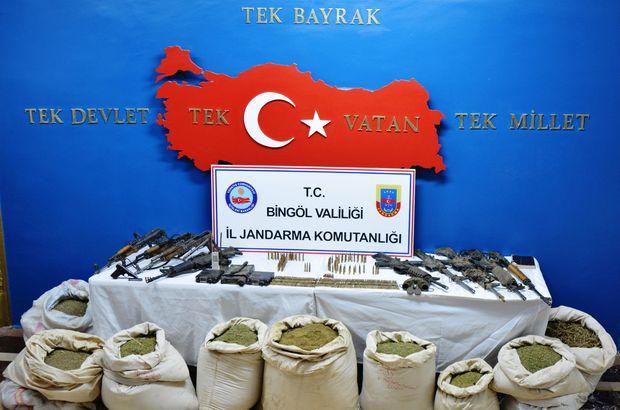 Bingöl'de 5 terörist etkisiz hale getirildi