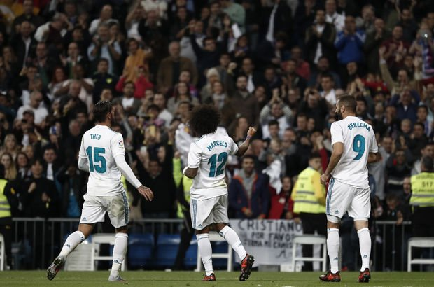 Real Madrid: 3 - Eibar: 0