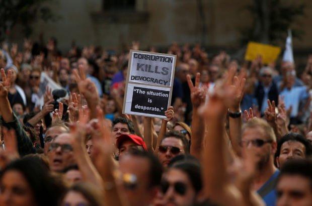 Öldürülen gazeteci Galizia için tepkiler büyüyor: 'Düşman içimizde'
