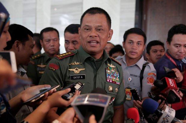 Endonezya Genelkurmay Başkanı Gatot Nurmantyo