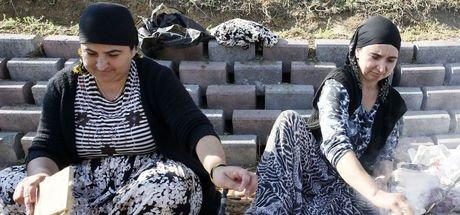İstanbul'un seyyar kadın kalaycıları