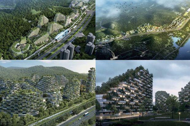 Çin'den dünyanın ilk 'orman kenti'