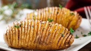 Yelpaze patates nasıl yapılır? Yelpaze patates tarifi ve malzemeleri