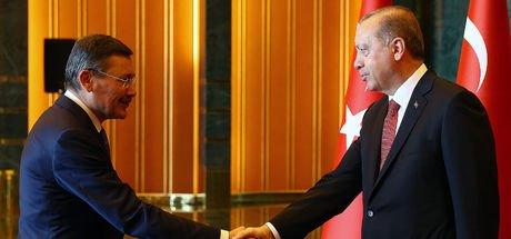 Cumhurbaşkanı Erdoğan ve Melih Gökçek görüşmesi sona erdi!