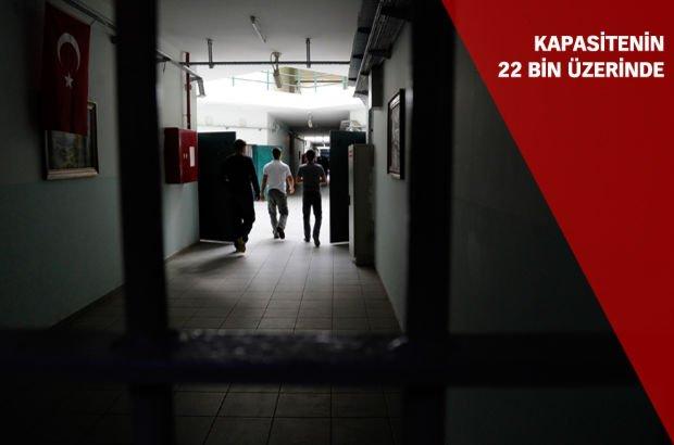 FETÖ 15 Temmuz darbe girişimi cezaevleri kapasitesi Adalet Bakanlığı