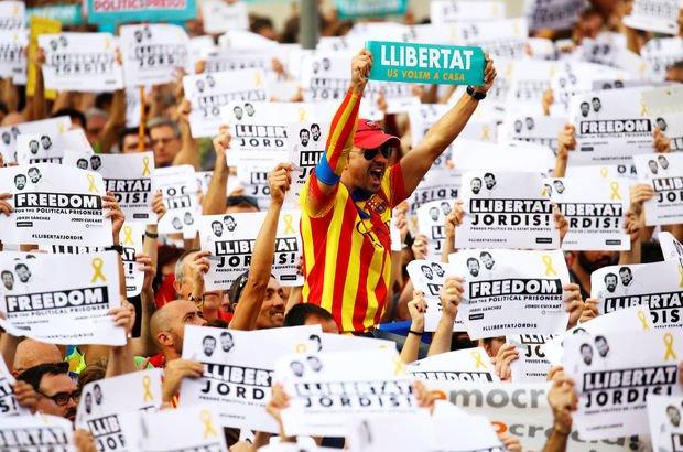 Katalonya'dan Madrid'e 'sivil itaatsizlik' uyarısı!