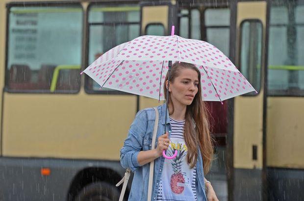 24 Ekim hava durumu - Bugün hava nasıl olacak? Yağmur şiddetlenecek mi?