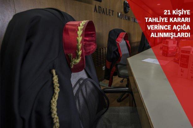'Medya' davasında tahliye kararı veren hâkimler aklandı