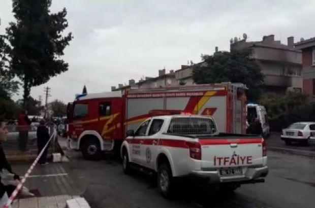 Ankara'da binada yangın