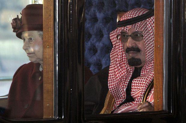 Kral Abdullah'ı yola getiren tek kadın: Kraliçe Elizabeth!