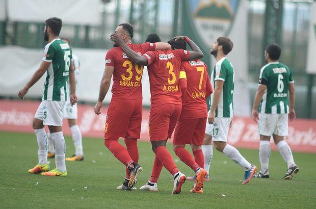 Yeşil Bursa: 1 - Kayserispor: 2 | MAÇ SONUCU