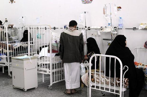 Yemen'de 7 ayda 872 bin kolera vakası görüldü