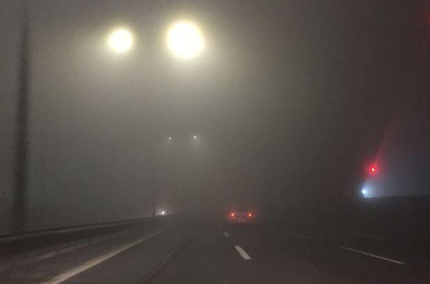 FSM Köprüsünde sis etkili oldu