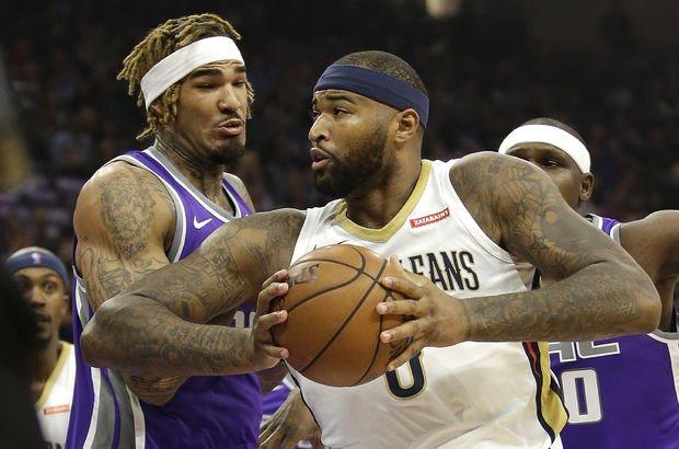 DeMarcus Cousins'tan Sacramento Kings'e 41 sayı