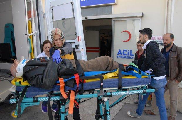 Kocaeli'de hafriyat kamyonu çarpan adam ağır yaralandı