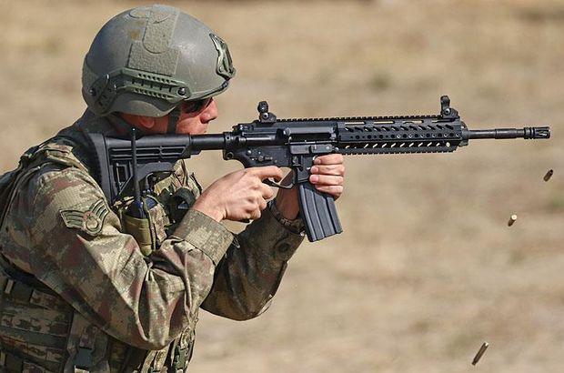 Milli tüfekler teröristle mücadele operasyonlarında