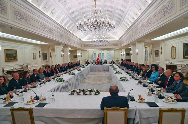 Başbakan Binali Yıldırım, yeni atanan büyükelçileri kabul etti