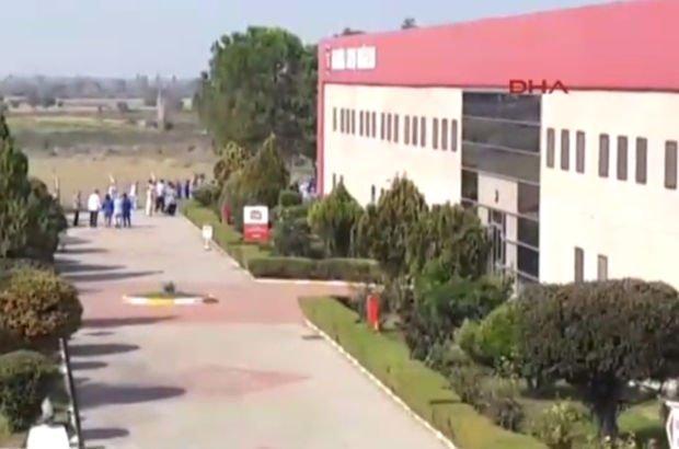 Son dakika: Tekstil fabrikasında doğalgaz sızıntısı: 37 işçi hastaneye kaldırıldı