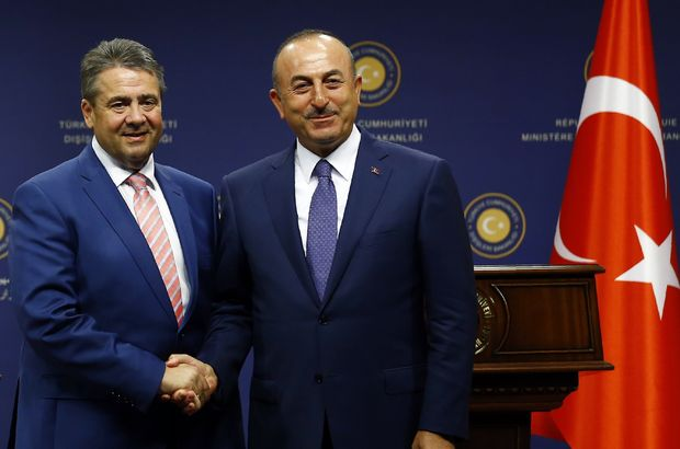 son dakika : Çavuşoğlu Alman Dışişleri Bakanı Gabriel ile görüştü!