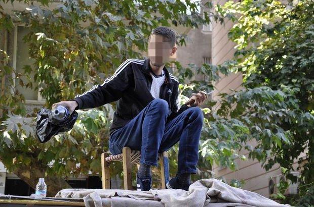 Diyarbakır'da zabıtanın engellediği seyyar satıcı kendini öldürmek istedi