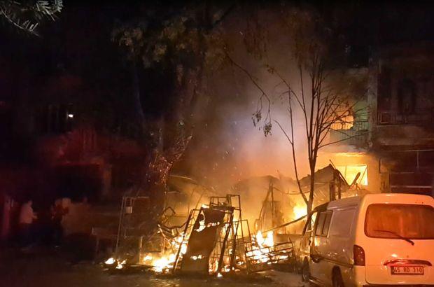 İzmir'de iş yerinde yangın!