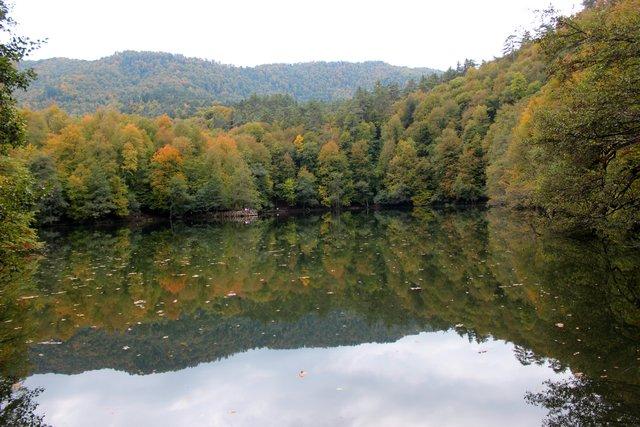 Bolu Yedigöller'de sonbahar güzelliği