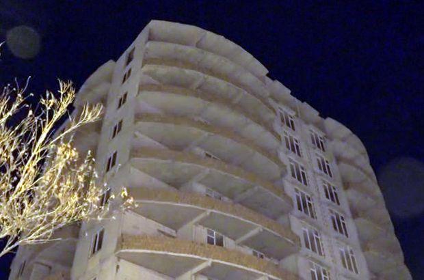 Erzurum'da bir genç annesinden helallik isteyip, 8'inci kattan atladı