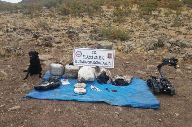 Elazığ'da 83 kilo patlatılmaya hazır amonyum nitrat ele geçirildi