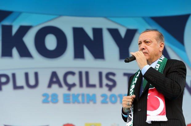 Erdoğan: Türk milletinin gücünün farkına varması birilerini kudurttu