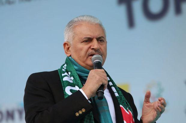 Başbakan Binali Yıldırım Konya'da konuşuyor