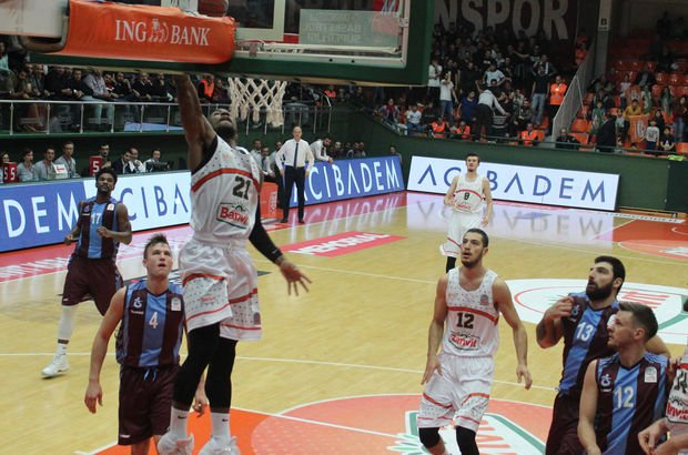 Banvit: 75 - Trabzonspor: 72 | MAÇ SONUCU