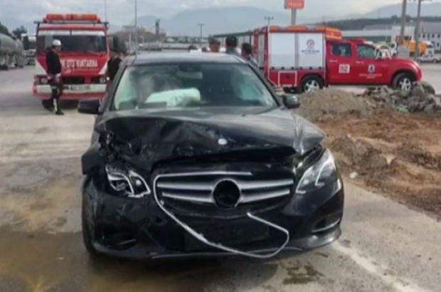 AK Parti Milletvekili Tin kazada yaralandı